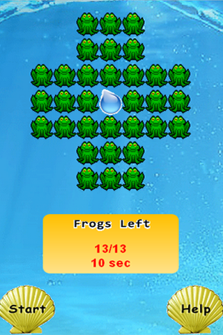 Screenshot Frog Game